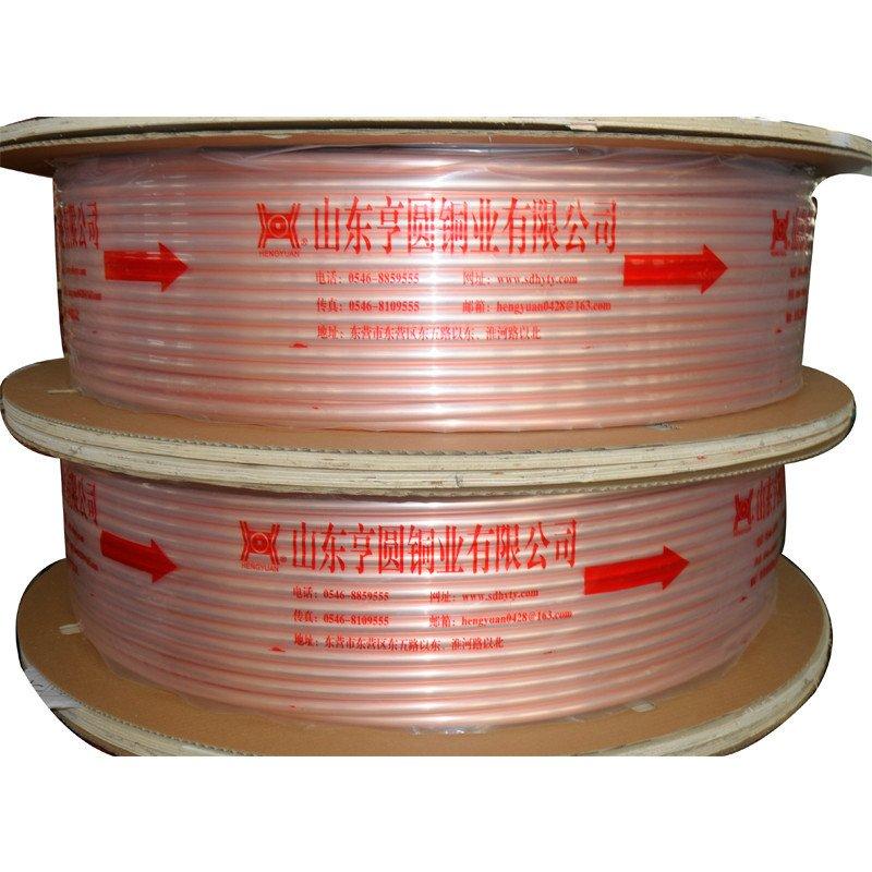 聚材网 亨圆牌R410铜管(材料)(外径Φ9.52,壁厚0.8MM),(大木轮, 小盘管))