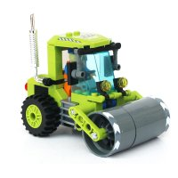 监控城市系列拼装益智图纸清扫车拖拉机重型叉6基础杆米启蒙积木图片