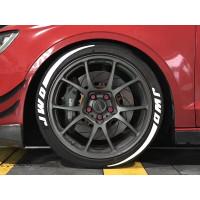 卓品佳3d轮胎字母贴轮胎英文字母个性轮胎贴字橡胶轮胎字hf低趴潮车