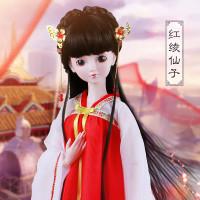 促销古装大芭比叶罗丽仙子娃娃白浅上神青丘女帝凤九女孩玩具全套礼盒图片