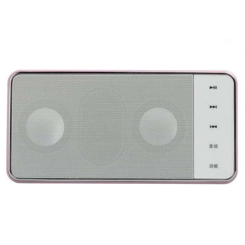 熊猫数码音响播放器DS-130 紫 插卡音箱 立体声收音机