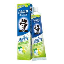 黑人(DARLIE)超白 牙膏 140g(青柠薄荷)