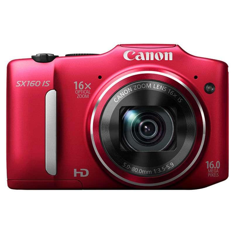 佳能 数码相机 powershotsx160 is (红)