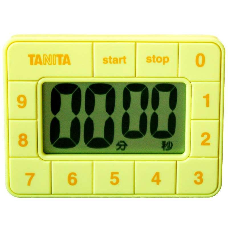 百利达计时器TD-390(黄色)