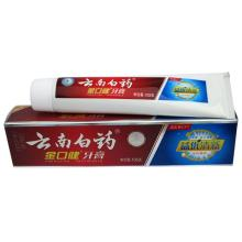 云南白药(YUNNAN BAIYAO)金口健牙膏益优清新冰柠香型105g