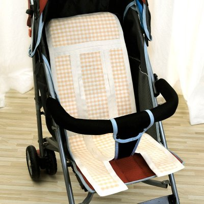良良婴幼儿纯苎麻多用保健凉席米咖 LLB04-1C