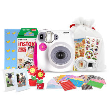 富士(FUJIFILM)趣奇(checky)instax mini7S相机大礼包(粉)
