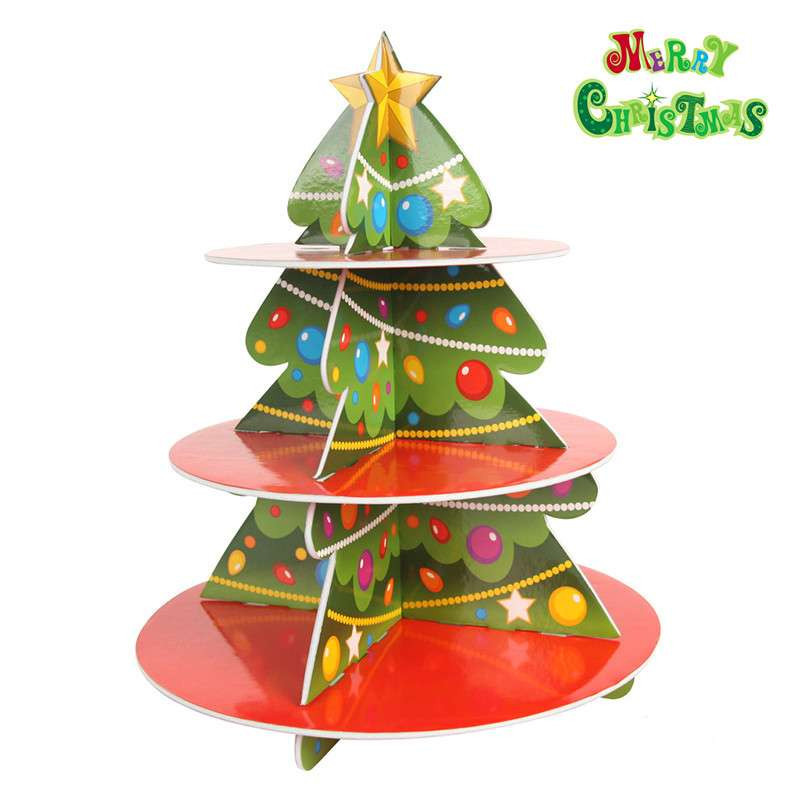 dms大贸商 圣诞树3d立体拼图 手工diy玩具 拼装泡沫板
