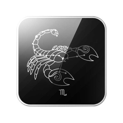 耐威IC-Pro 苹果蓝牙防丢器 黑色(天蝎座)