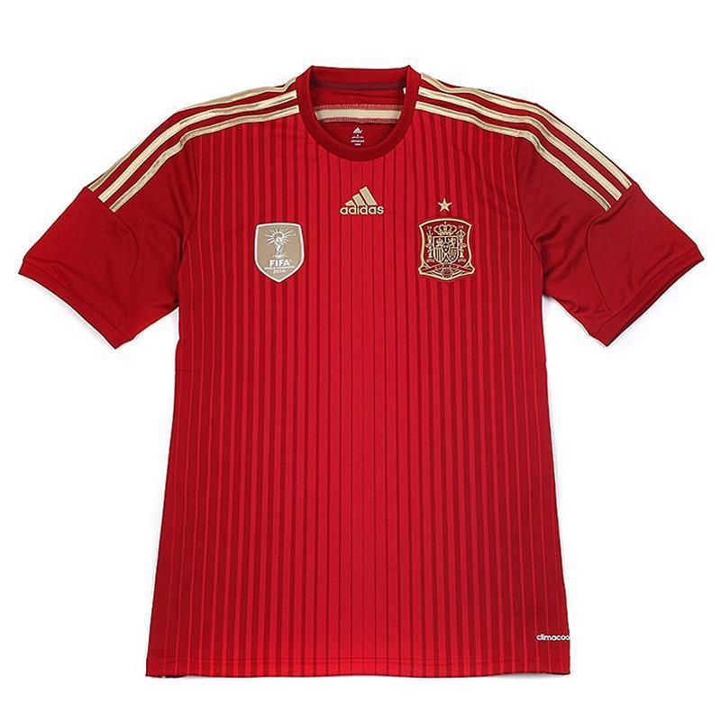 adidas/阿迪达斯 男子 足球系列西班牙主场比赛服 g85279