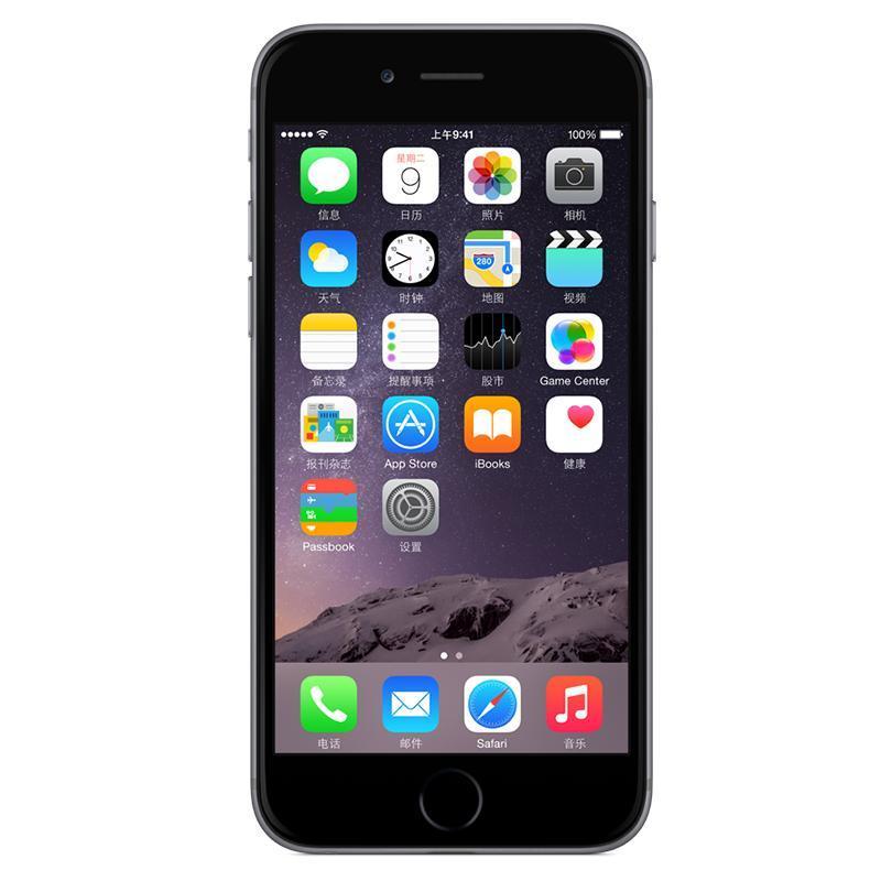 Apple iPhone 6 128GB 深空灰色 移动联通电信4G手机