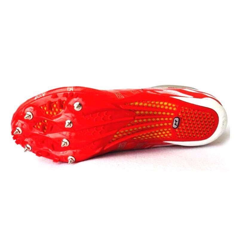 钉鞋囹�a_health/飞人海尔斯177 跑钉鞋 钉子鞋 田径运动鞋 比赛钉鞋 绿色 44码