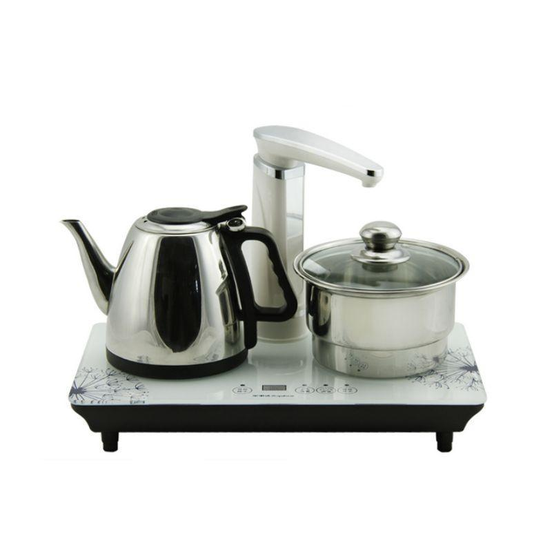 royalstar荣事达egm10j套装电热水壶不锈钢自动上水烧水壶