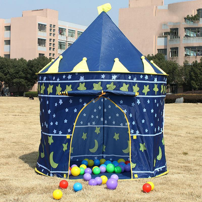 麦宝创玩 儿童帐篷游戏屋玩具屋大号房子宝宝王子公主帐篷海洋球玩具