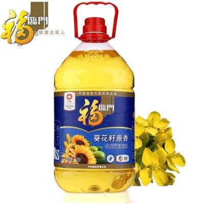 福临门 葵花籽原香食用调和油 5L