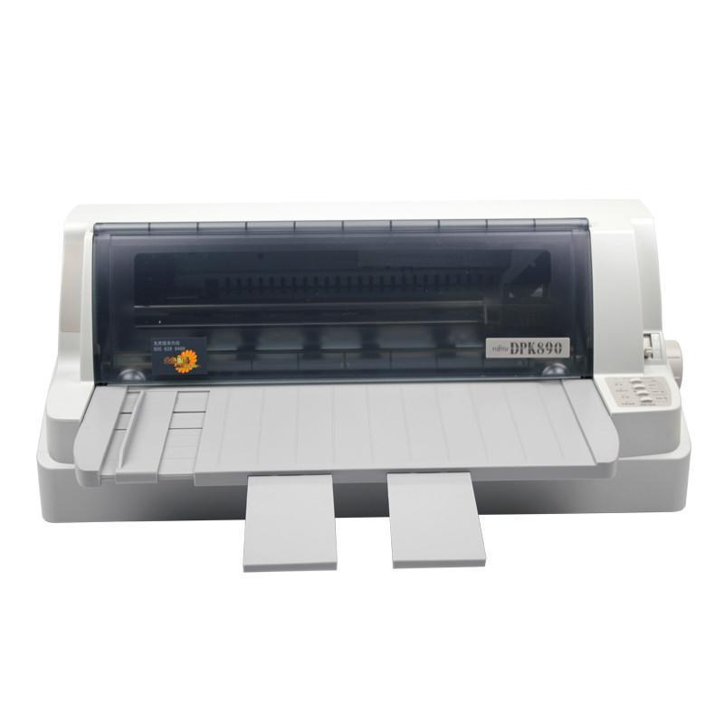 富士通(FUJITSU)DPK890土地证房产医疗证卫生免疫证超厚证专用针式打印机