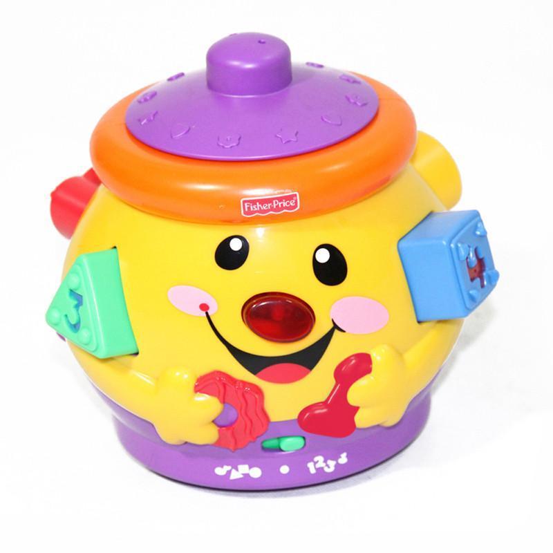 费雪 小可爱曲奇罐(双语)婴幼儿益智玩具 v8725