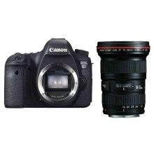 佳能(Canon) EOS 6D 单反套机(EF 16-35mm f/2.8L II USM 镜头)+卡+包+UV镜
