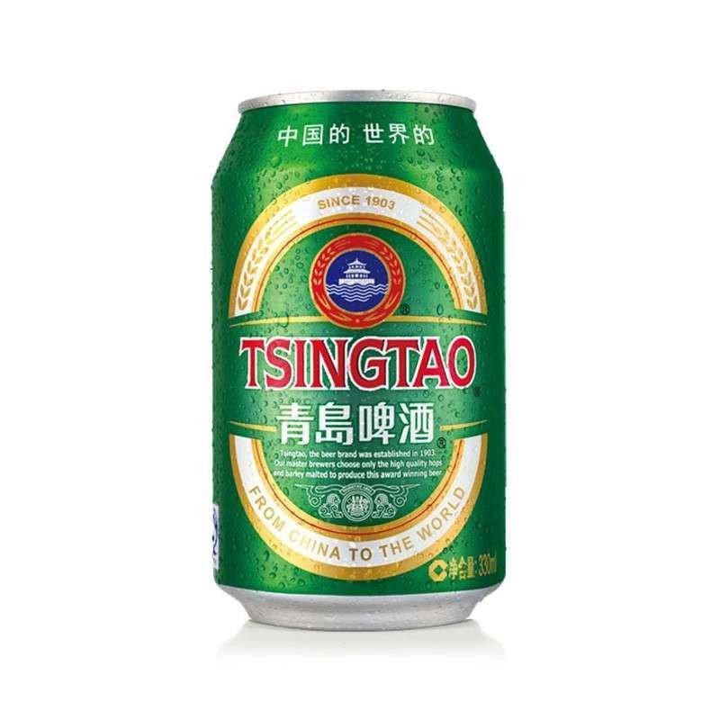 青岛啤酒10度经典330ml*1听