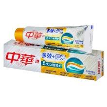 中华多效+护龈清新薄荷味牙膏130g【联合利华】