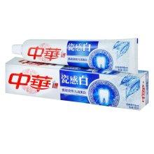 中华瓷感白冬青薄荷味牙膏180g【联合利华】