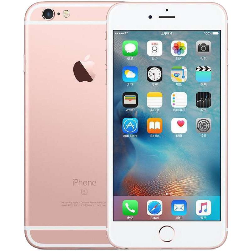 Apple iPhone 6s Plus 64GB 玫瑰金色 移动联通电信4G手机