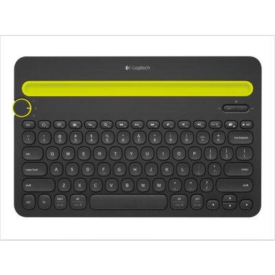 罗技(Logitech)K480蓝牙键盘 黑色