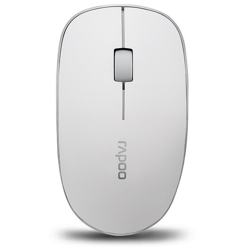 雷柏(rapoo)3500p 无线光学鼠标 白色