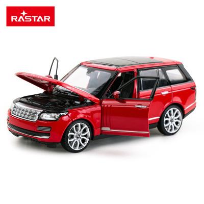 星辉(Rastar)路虎揽胜合金车静态模型1:24男孩玩具模型收藏56300红色