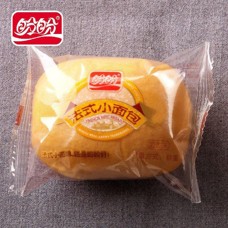 盼盼食品法式小面包145g*5奶香味 袋装营养早餐面包糕点心其他休闲图片