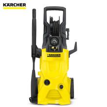 德国凯驰(KARCHER)清洁机K4豪华版家用立式高压洗车机多功能清洗机清扫角落'1800'W