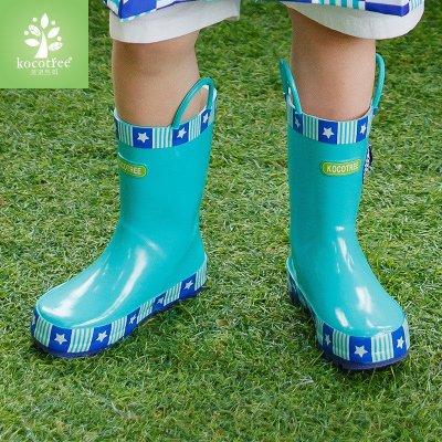 韩国kk树儿童雨鞋男童女童雨靴防滑可爱小孩水鞋橡胶学生宝宝雨鞋 ps