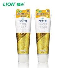 狮王(Lion)酵素牙膏130g(柠檬冰姜薄荷)(新老包装随机发货)
