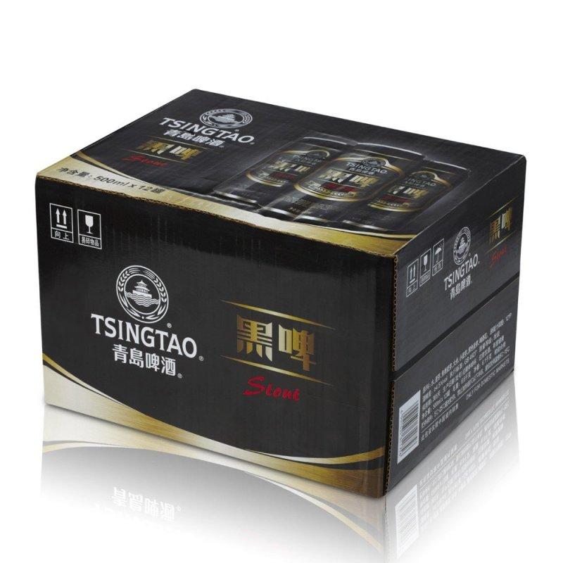 青岛啤酒 黑啤(12度)500ml*12罐