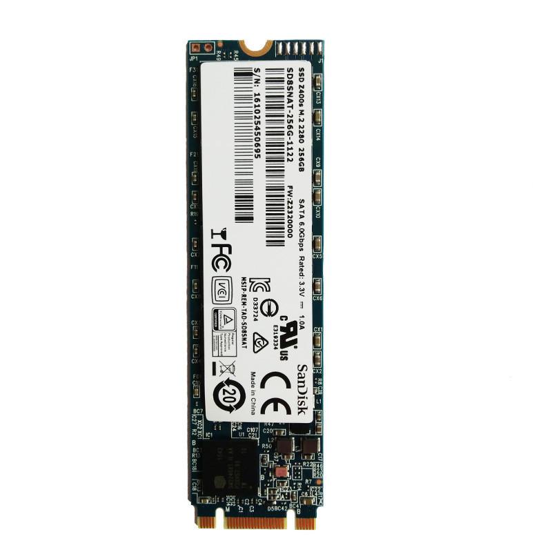闪迪(SanDisk)Z400s系列256G SSD固态硬盘M.2(NGFF)2280
