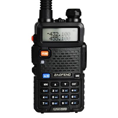宝锋(BAOFENG)UV-5R对讲机 UV双段 128信道 支持FM黑色 一台