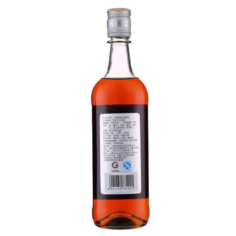 和酒 银标上海老酒 黄酒 555ml