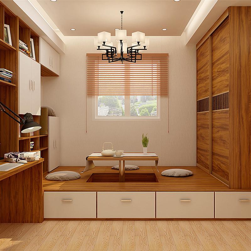 科凡榻榻米床多功能升降台桌书房书桌衣柜定制踏踏米床定制榻榻米空间