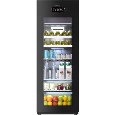Casarte冰吧LC-220JE 220升 高端冰吧 母婴冰箱 冷藏柜 商务冰箱 茶叶柜 展示柜 红酒柜 饮料柜 雪茄