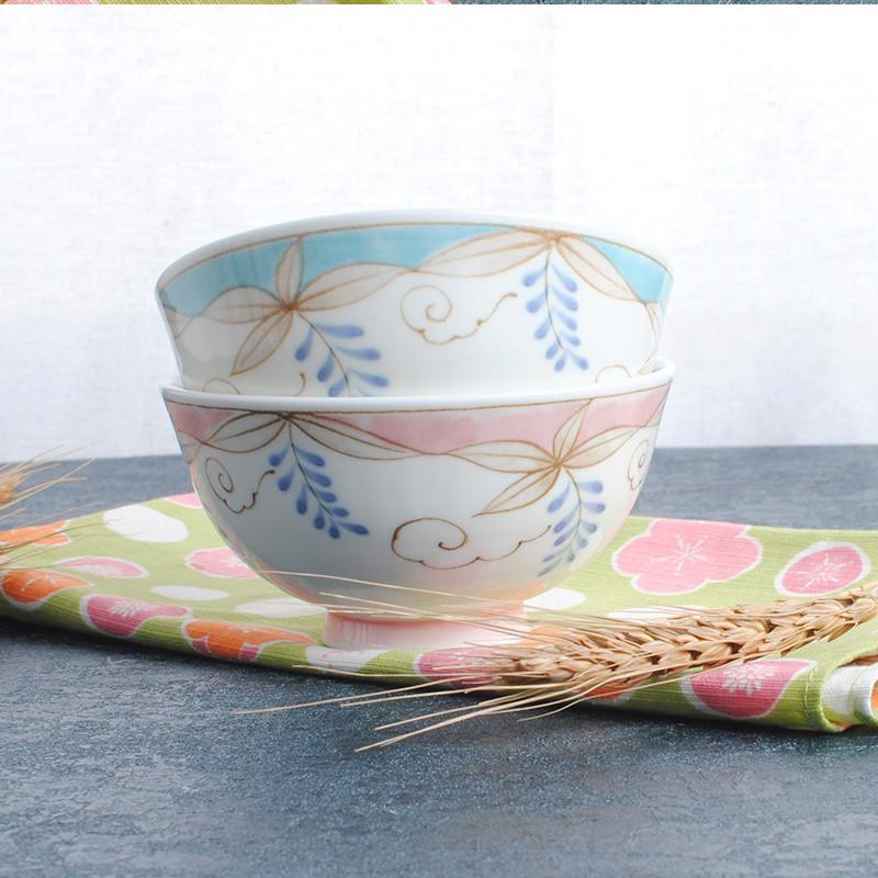 日本进口可爱儿童饭碗小碗小孩对碗套装家用套餐餐具