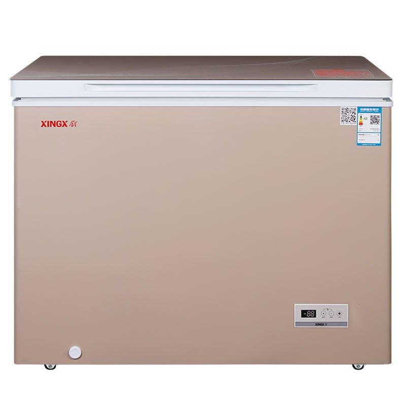 星星(xingx) bd/bc-210bjv 210升卧式 冷柜 冰柜不锈钢内胆 低霜系统图片