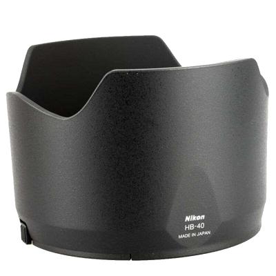尼康(Nikon) HB-40 原装遮光罩 适用于77mm口径 尼康24-70F2.8G单反镜头