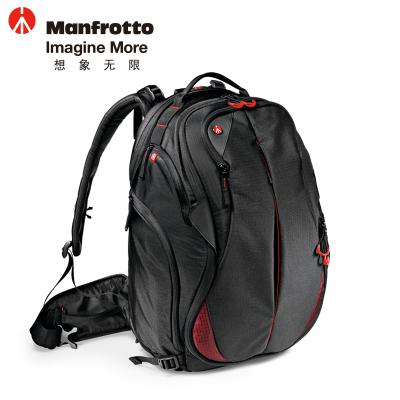 曼富圖(MANFROTTO)MB-PL-B-230 大黃蜂-230雙肩式背包單反相機包攝像機包數碼相機包 黑色