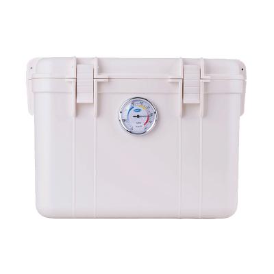 卡赛(KAssA)KS-025 单反相机防潮箱/镜头收纳箱/干燥箱 带吸湿卡 卡扣式简易锁 白色