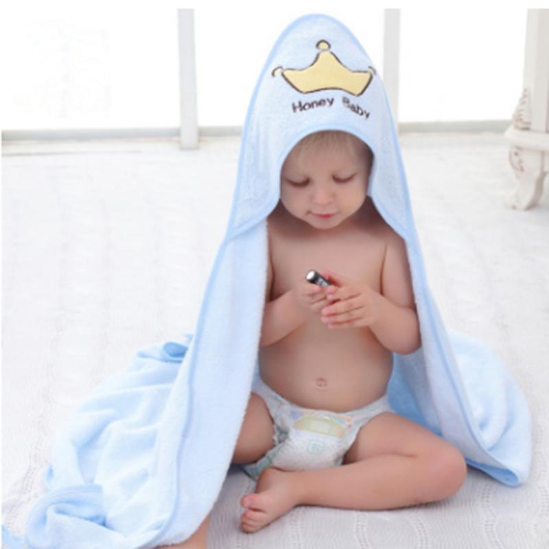 艾贝瑞仕竹纤维连帽亲子浴巾襁褓巾竹纤维连帽婴儿包巾斗篷_9 粉色
