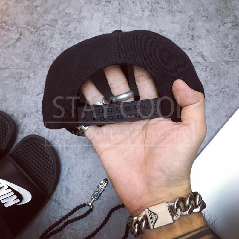 韩国鸭舌帽女式帽子夏季帽时尚gd网红同款帽子男弯檐帽潮棒球帽823