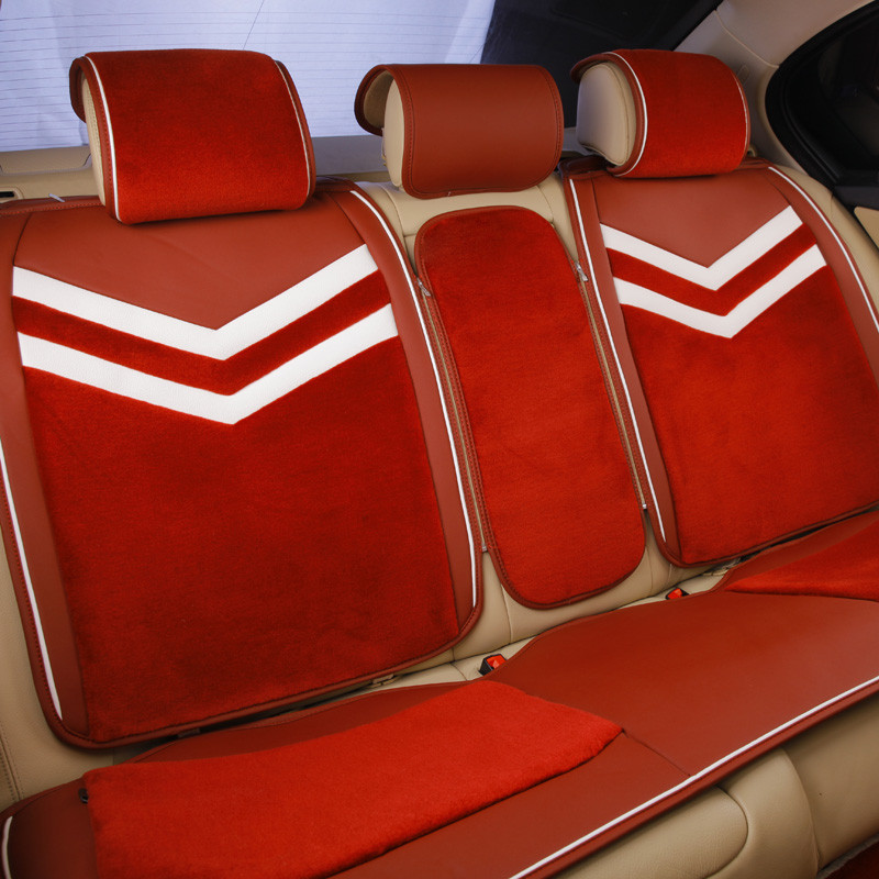 尼罗河(NILE)荣耀 酒红色 羊毛类汽车座垫