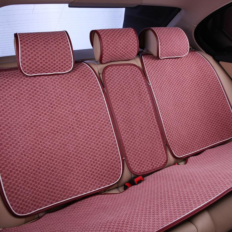 尼罗河(NILE)绿洲之歌 酒红色 布艺类汽车座垫
