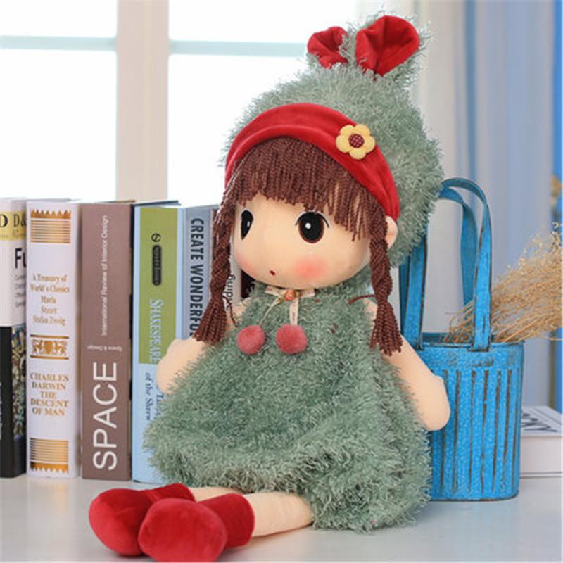 毛绒玩具布娃娃可爱公主花仙子百变菲儿小女孩公仔玩偶生日圣诞节女儿