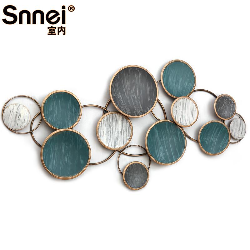 新款特价欧式复古立体手工铁艺壁挂装饰创意卧室墙面装饰品图片